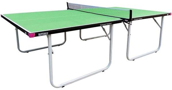 Butterfly Compact Outdoor zelený - Stůl na stolní tenis
