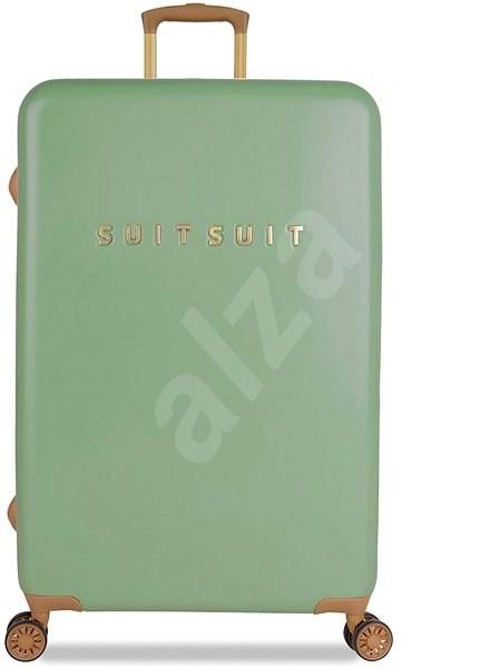 Suitsuit TR-7103/3-L - Fab Seventies Basil Green - Cestovní kufr s TSA zámkem