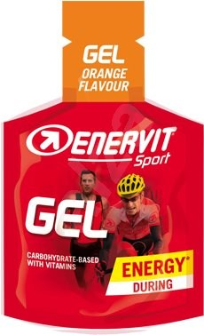 Enervit Gel (25 ml) pomeranč - Energetický gel