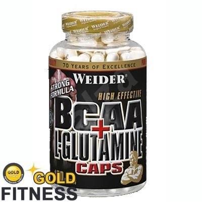 Weider BCAA + L-Glutamine 180kapslí - Aminokyseliny