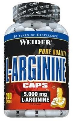 Weider L-Arginine Caps 200kapslí - Aminokyseliny
