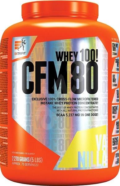 Extrifit CFM Instant Whey 80, 2270g, vanilla - Protein