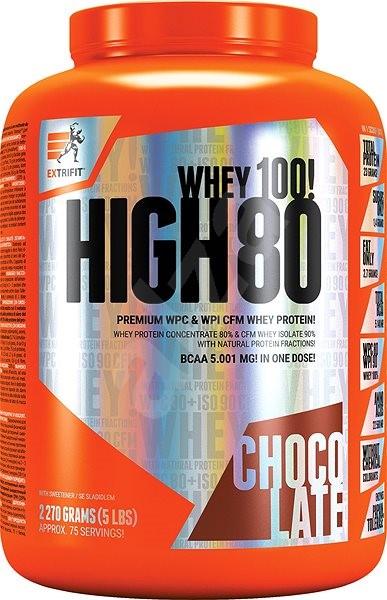 Extrifit High Whey 80, 2270g, banana chocolate - Protein
