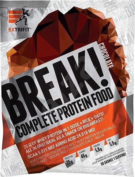 Extrifit Break! Protein Food 90g Chocolate - Smoothie