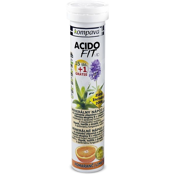Kompava AcidoFit - Sportovní nápoj