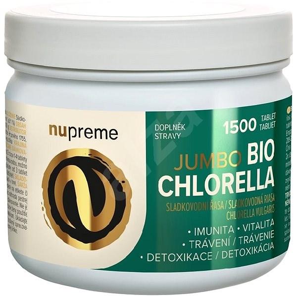 Nupreme BIO Chlorella 1500tbl. - Superfood