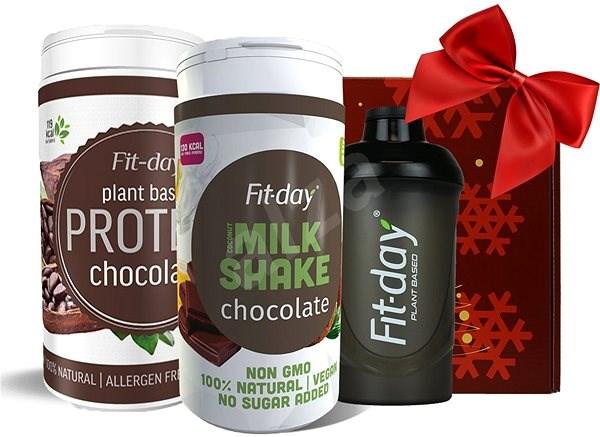 Fit-day Zdravý dárek pro milovníky čokolády - Dárková sada