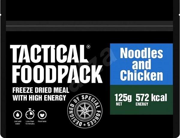 Tactical Foodpack Nudle s kuřecím masem - Jídlo