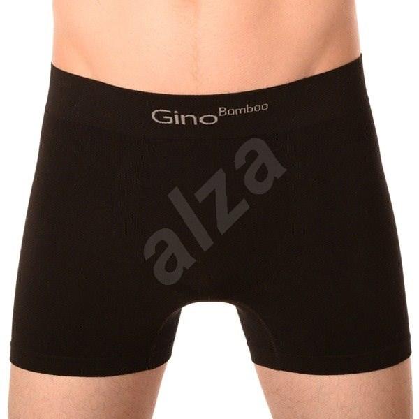 Gino 54004 - černé, černá L - Boxerky