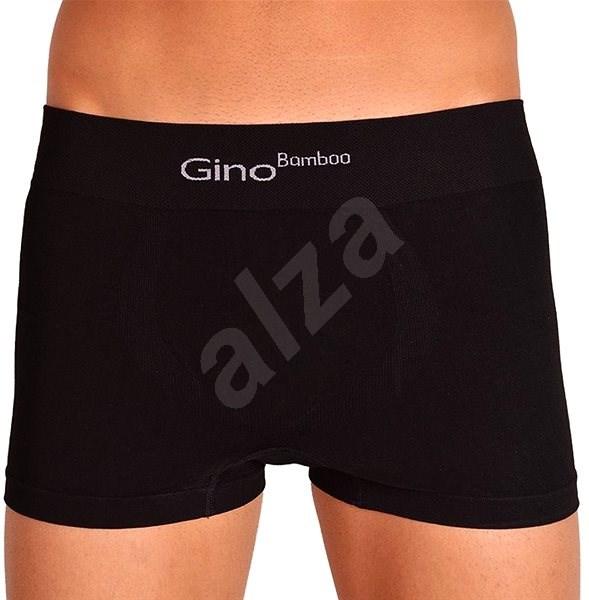Gino 53004 - černé, černá L - Boxerky