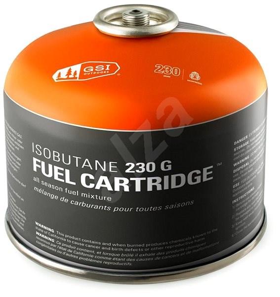 GSI Outdoors Isobutane Fuel Cartridge 230 g - Kartuše