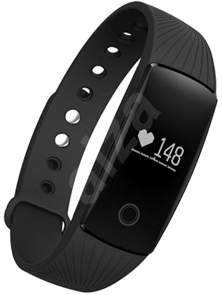 UMAX U-Band 107HR Black - Fitness náramek