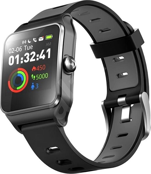 UMAX U-Band P1 PRO Black - Chytré hodinky