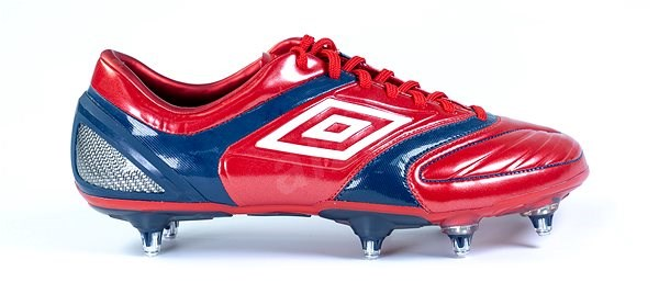 STEALTH PRO SG Red / White / Navy, size 44.5 EU / 285 mm - Football Boots