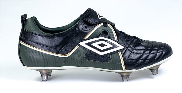 Umbro SPECIALI SG BLK/WHT/BRITISH RACING GREEN/GLD vel. 45,5 EU / 295 mm - Kopačky
