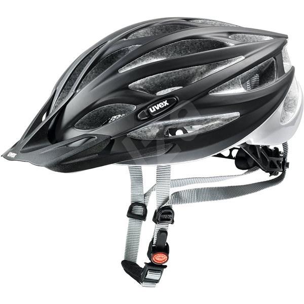 Uvex Oversize, Black Mat-Silver L/XL - Helma na kolo