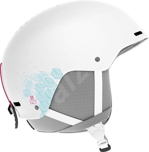 Salomon PACT White vel. JR XS (49-53 cm) - Lyžařská helma