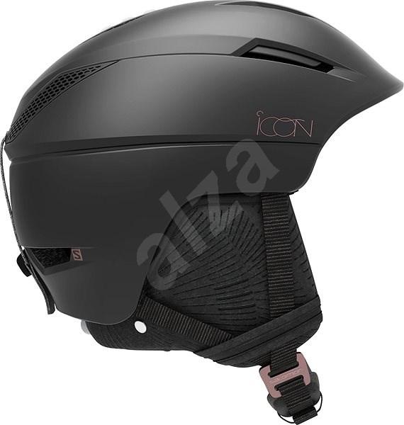 Salomon ICON2 C. AIR Black vel. S (53-56 cm) - Lyžařská helma