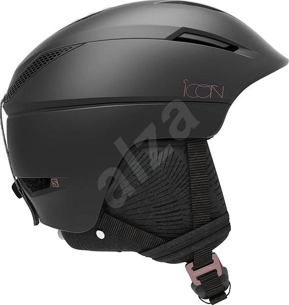 Salomon ICON2 C. AIR Black vel. M (56-59 cm) - Lyžařská helma