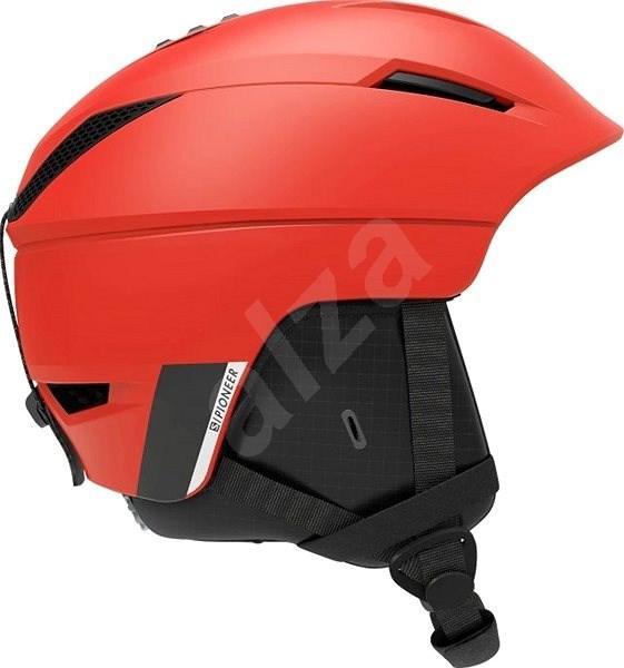 Salomon PIONEER M Red/beluga vel. L (59-62 cm) - Lyžařská helma