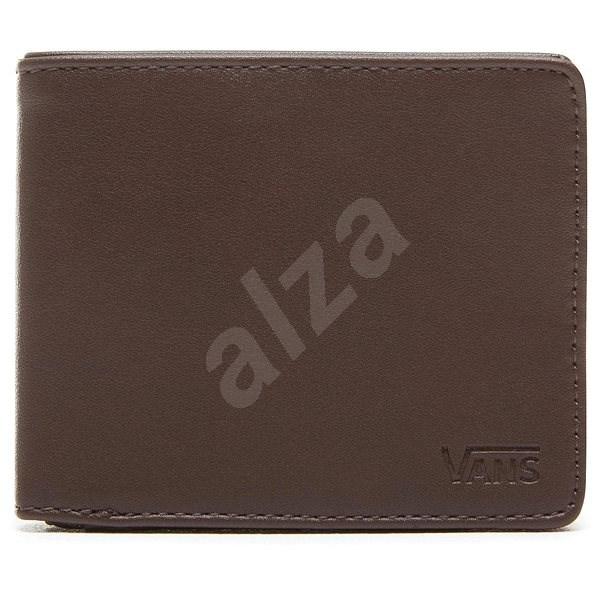 Vans MN Drop V Bifold Wallet Black Dark Brown - Pánská peněženka