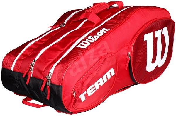 f44865c14db Wilson Team III 12 Pack Red White - Sportovní taška | Alza.cz