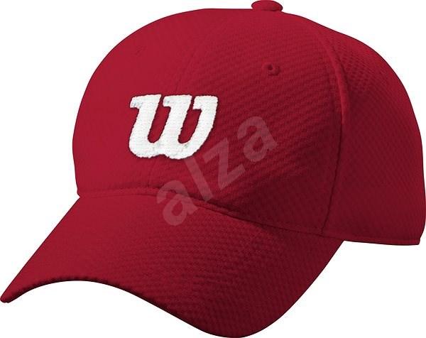 Wilson Summer Cap II červená/bílá vel. UNI - Kšiltovka