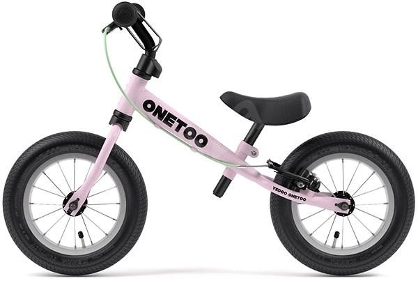 Yedoo OneToo růžová - Sportovní odrážedlo