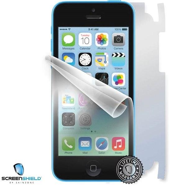 ScreenShield pro iPhone 5C na celé tělo telefonu - Ochranná fólie