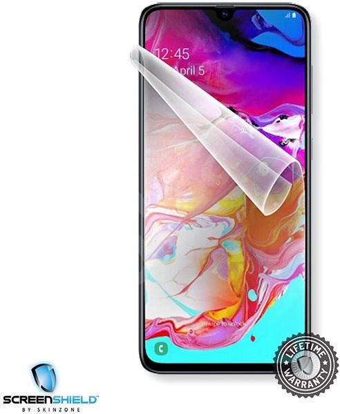 Screenshield SAMSUNG Galaxy A70 na displej - Ochranná fólie