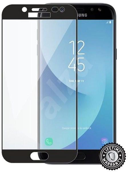 Screenshield SAMSUNG J530 Galaxy J5 (2017) black - Ochranné sklo