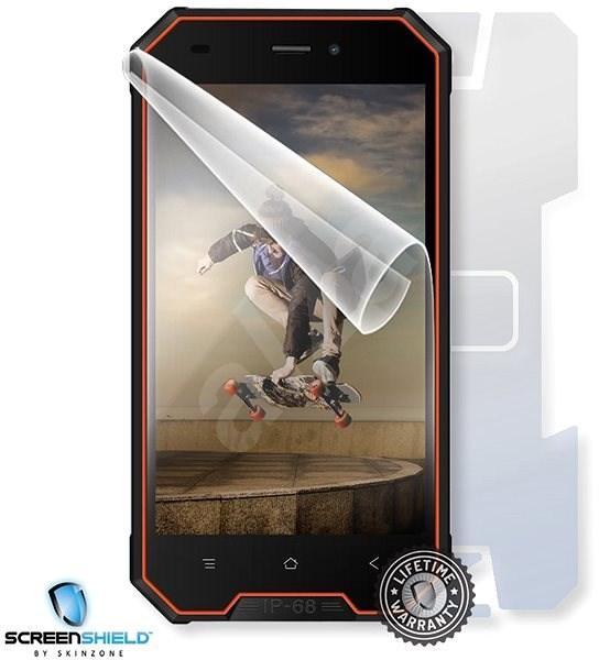 Screenshield IGET Blackview GBV4000 na celé tělo - Ochranná fólie