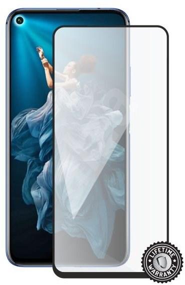 Screenshield HONOR 20 (full COVER black) - Ochranné sklo