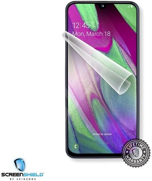 54e28eb84 Screenshield SAMSUNG Galaxy A40 na displej - Ochranná fólie | Alza.cz