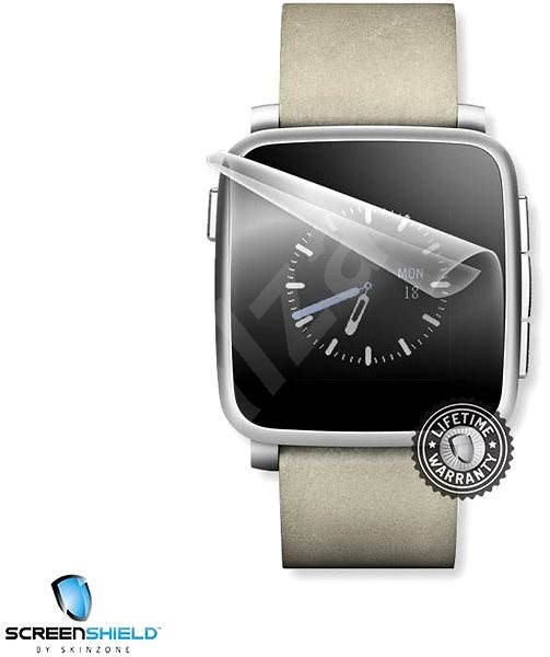 ScreenShield pro Pebble Time Steel na displej hodinek - Ochranná fólie