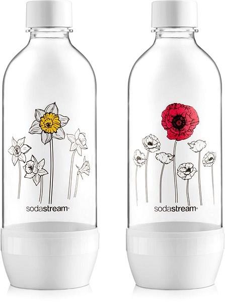 SodaStream lahev květiny v zimě JET 2 x 1l - Náhradní láhev