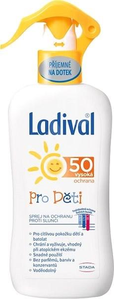 LADIVAL PRO DĚTI OF 50 SPREJ 200 ml - Opalovací sprej