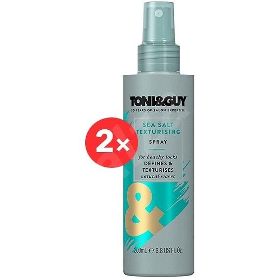 TONI&GUY Stylingový sprej s mořskou solí 2 × 200 ml - Sprej na vlasy