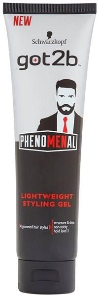 SCHWARZKOPF Got2B Phenomenal Light Hold Styling Gel 150 ml - Gel na vlasy
