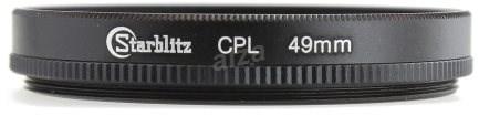 Starblitz cirkulárně polarizační filtr 49mm - Polarizační filtr