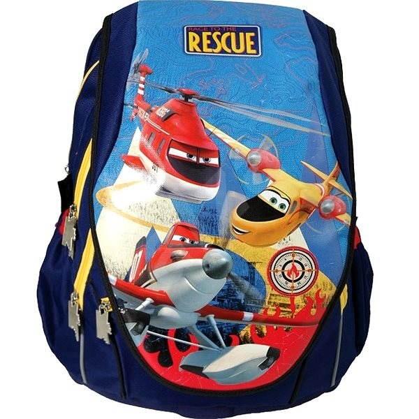 Anatomický školní batoh Abb - Disney Letadla - Školní batoh  f9f5d15223