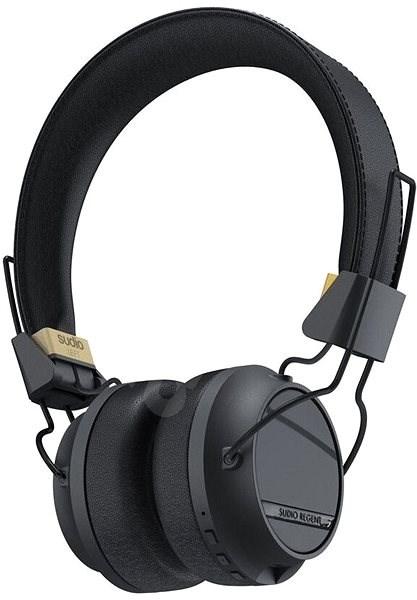 Sudio Regent černá - Sluchátka s mikrofonem