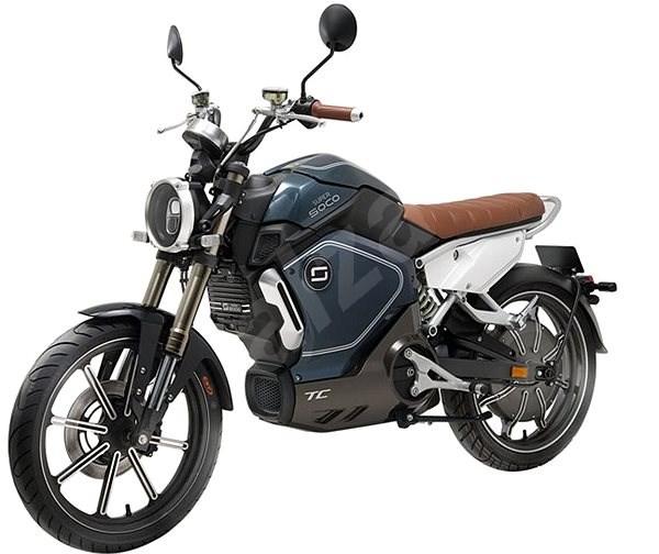 Super SOCO TC modrá - Elektrická motorka
