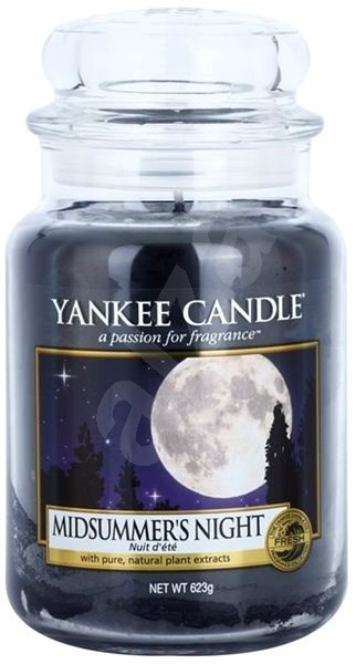 YANKEE CANDLE Classic Candle Midsummer's Night 623g - Candle