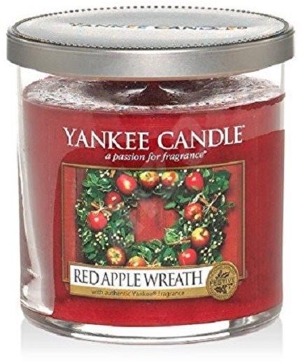 YANKEE CANDLE Décor malý 198 g Red Apple Wreath - Svíčka