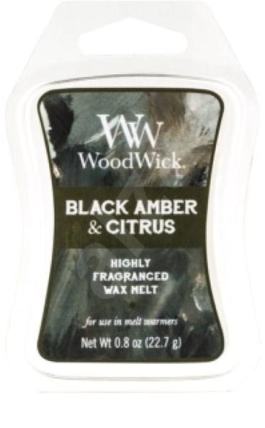 WOODWICK ARTISAN Black Amber and Citrus 22,7 g - Vonný vosk