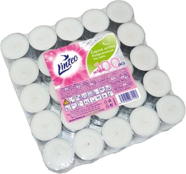 LINTEO Čajové svíčky 100 ks - Svíčka