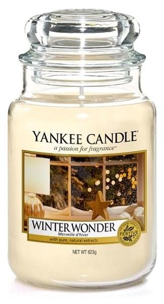 YANKEE CANDLE Classic velký 623 g Winter Wonder - Svíčka