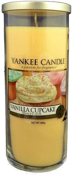 YANKEE CANDLE Décor velký 566 g Vanilla Cupcake - Svíčka