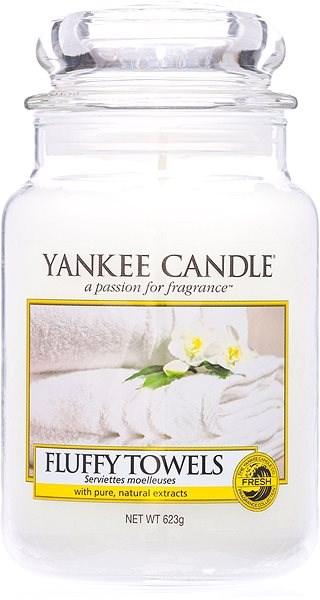 YANKEE CANDLE Classic velký Fluffy Towels 623 g - Svíčka